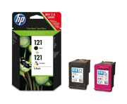 HP 121 Black/Color (CN637HE)